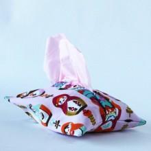 Tissue holder-Pink Babushka