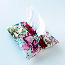 Cream Japanese design- Tissue holder