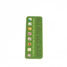 7 Species bookmark- Green