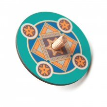 Dreidel-Blue with star of david