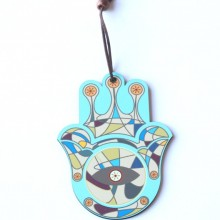 Light blue Hamsa