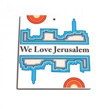 We love Jerusalem