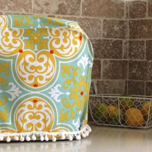 Tile style mixer cover