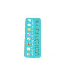 7 Species bookmark- Light blue