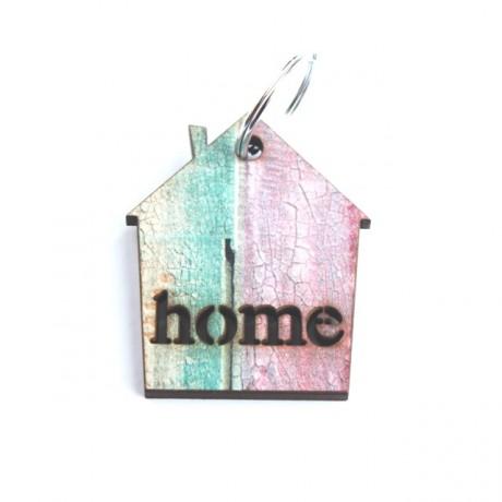 מחזיק מפתחות מעוצב בדוגמת גדר רטרו-home